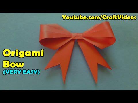 Elegant Paper Bow