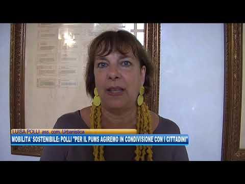 14/09/2020 - MOBILITA' SOSTENIBILE: POLLI 'PER IL PUMS AGIREMO IN CONDIVISIONE CON I CITTADINI