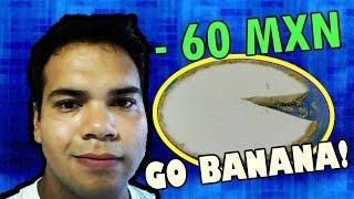 Un delicioso Pay de plátano por menos de 60 pesos, y lo mejor de todo es que ¡NO NECESITAMOS EL HORNO! INGREDIENTES -2 platanos -2 limones -1/2 taza de agua ...