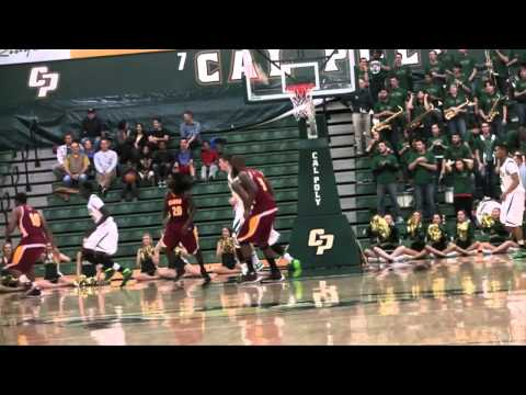 Cal Poly Men's Basketball vs. Cal State Dominguez Hills Highlights (Dec. 14, 2013)