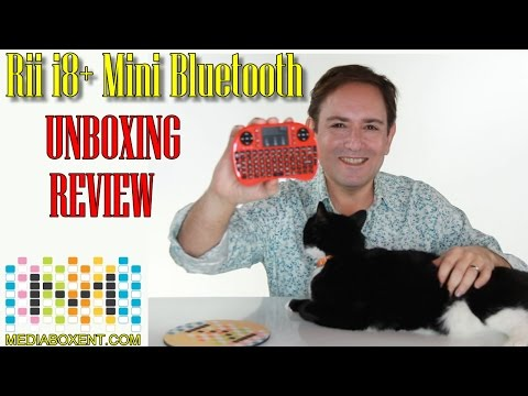 🛠 Rii i8+ BT Mini Wireless Bluetooth Backlight  Unboxing and Review