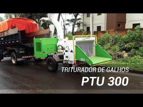 Triturador de galhos entregue a condomínio no Paraguai