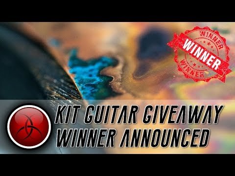 Winner of the Crimson Kit Guitar Giveaway Announced