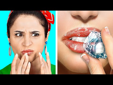COOL DIY BEAUTY HACKS || Useful Makeup Tricks by 123 Go! Gold