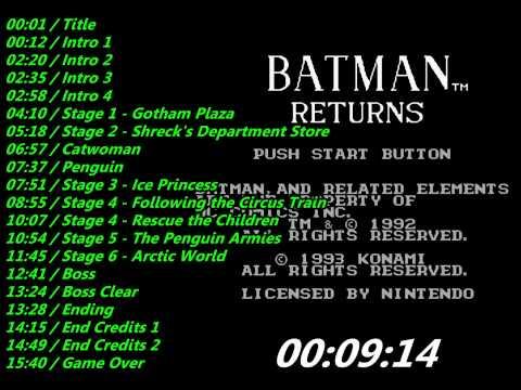 batman returns nes cheat
