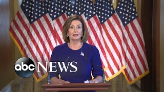 Nancy Pelosi says House will go forward with Trump impeachment inquiry