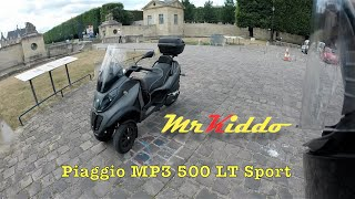 4. Test Riding the Piaggio MP3 500 LT Sport