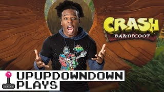 SUBSCRIBE: http://bit.ly/upupdwndwnAustin travels through time and space to the 1990's and comes back with the newly released remastered Crash Bandicoot!Like us on Facebook: http://www.facebook.com/UpUpDwnDwnFollow us on Twitter: http://twitter.com/UpUpDwnDwnCheck us out on Instagram: http://instagram.com/upupdwndwn/GET YOUR UPUPDOWNDOWN SHIRTS HERE: http://shop.wwe.com/250-100-001-1.htmlAND HERE: http://shop.wwe.com/250-100-002-1.htmlEUROSHOP T-SHIRTS: http://euroshop.wwe.com/en_GB/xavier-woods-upupdowndown-t-shirt/W10436.htmlAustin Creed's Twitter: http://twitter.com/XavierWoodsPhDAustin Creed's Twitch: http://twitch.tv/Austincreed/profile
