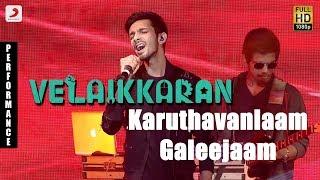 Video Velaikkaran Audio Launch - Anirudh Karuthavanlaam Galeejaam Performance MP3, 3GP, MP4, WEBM, AVI, FLV Desember 2017