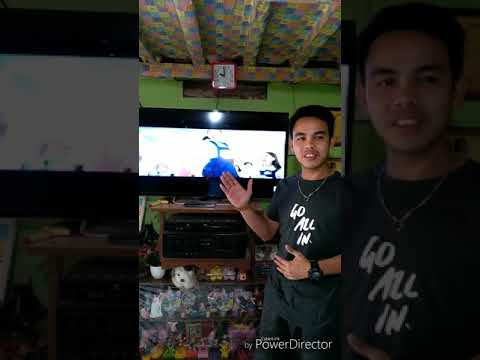 How to turn-on a T.V (Television) [English 4]