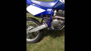 6. 2001 Yamaha TTR 250