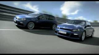 VOLKSWAGEN R-LEVEL: Golf R & Scirocco R
