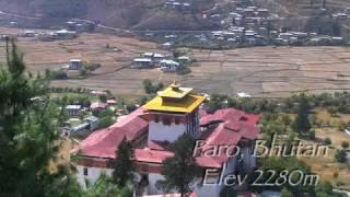 Paro Bhutan  City pictures : Paro, Bhutan