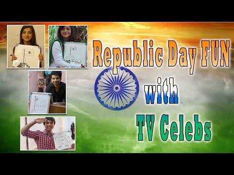Republic Day FUN with TV Celebs