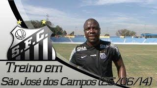 Confira como foi o quarto treino do Santos FC em São José dos Campos (25/06/2014). ** Inscreva-se na Santos TV e fique por...
