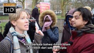 Video P1   Apakah Anda Tuhan Mansur vs Lizzie Kristen   Speakers Corner   Hyde Park MP3, 3GP, MP4, WEBM, AVI, FLV Februari 2019