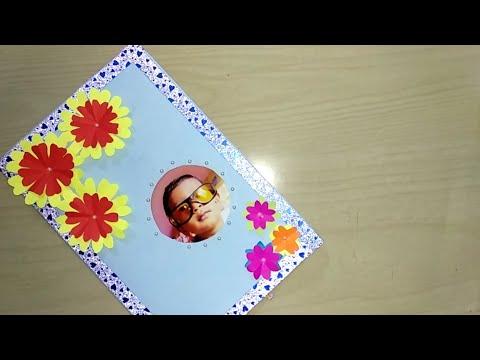 Birthday greetings - Birthday greeting card making