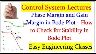 Phase Margin and Gain Margin in Bode Plot - How to Check for Stability in Bode Plot