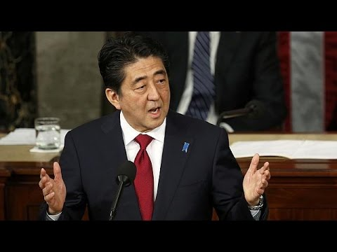 Japan: Shinzo Abe hält als erster japanischer Regierungschef Rede vor dem US-Kongress