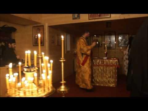 Nocne nabożeństwa ku czci św. Spirydona (2015 r.)