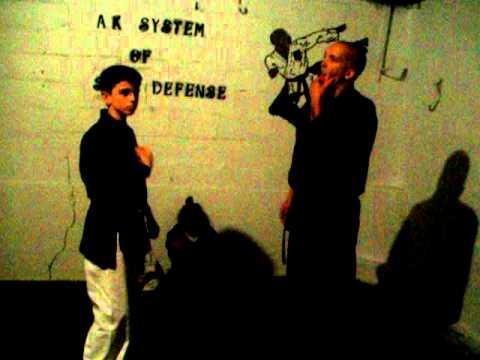 NIGHT AT THE DOJO / A.K. SYSTEM OF SELF-DEFENSE