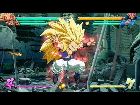 Dragon Ball FighterZ Gotenks character breakdown de Dragon Ball FighterZ