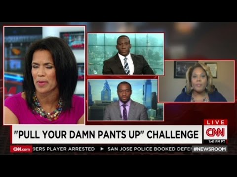 debate - Fireworks ensued when guests tackled the issue of saggy pants and racial profiling.