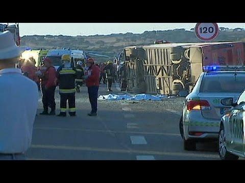 Πορτογαλία: Λεωφορείο με τουρίστες συνετρίβη – Τρεις νεκροί