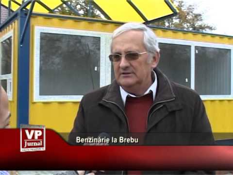 Benzinărie la Brebu