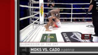 Submission of the Day: Rafal Moks Heel Hook to Guillotine Choke at KSW 25 by Fight Network