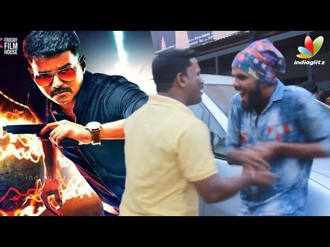 Theri-Vijay-Fans-fight-in-Kerala-Theaters