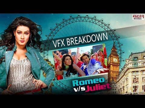 VFX Breakdown I Romeo VS Juliet   Ankush   Mahiya Mahi