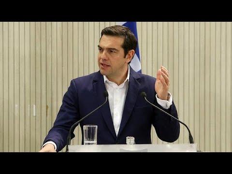 Ενημέρωση των πολιτικών αρχηγών για το Σκοπιανό