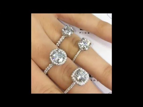 Comparing Engagement Rings with Different Width Bands