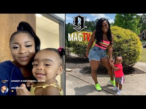 "Reginae Carter Denies Being ""Preggo"" During Big Sister Duty!"