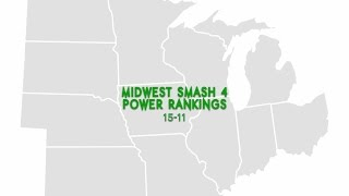 Midwest Smash 4 Power Rankings  11-15