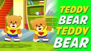 ✅ Teddy Bear Teddy Bear Turn Around Nursery Rhyme With Lyrics ...