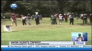 Greg Snow And Dismas Indiza Still Eyeing The Kenya Open Golf Trophy