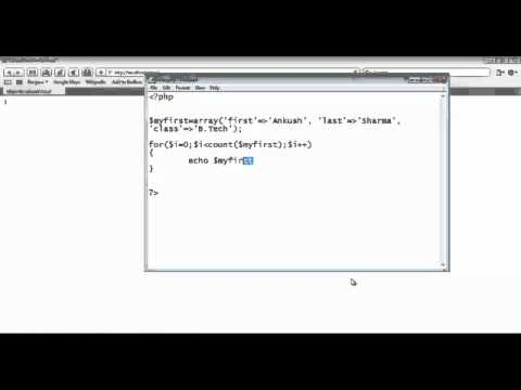 PHP Lecture Part 3 by Mr. Ankush Sharma