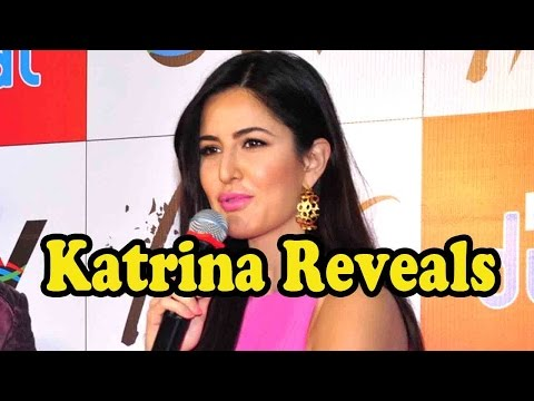 Katrina Kaif Reveals What She Can't Live Without!