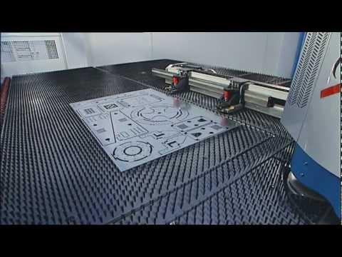 amazing new loading and loading system - פורק טוען למנקבת פח