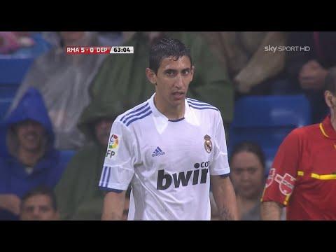 Angel di Maria vs Deportivo La Coruna (H) 10-11 HD 1080i by Silvan