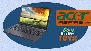 Nyjah was a good boy this year and Santa brought him exactly what he wanted, a NEW LAPTOP!!!  Check out his new Acer Aspire and see what he thinks of it.