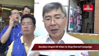 20161119 Parti Gerakan to Sign MOU with SPRM