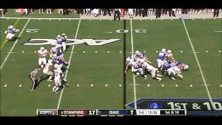 Chase Thomas vs Duke (2011)