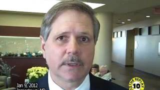 Jamestown (ND) United States  city photos : US Senator Hoeven Tours Airport and Hospital Jamestown ND