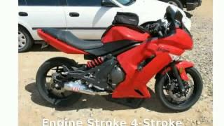 8. 2008 Kawasaki Ninja 650R Details & Features