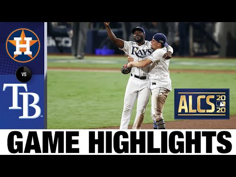 Rays hold off Astros in Game 7 to advance to World Series! | Astros-Rays Game 7 Highlights 10/17/20