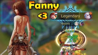 Download Video 99,9% PERFECT FANNY GAMEPLAY - MOBILE LEGENDS MP3 3GP MP4