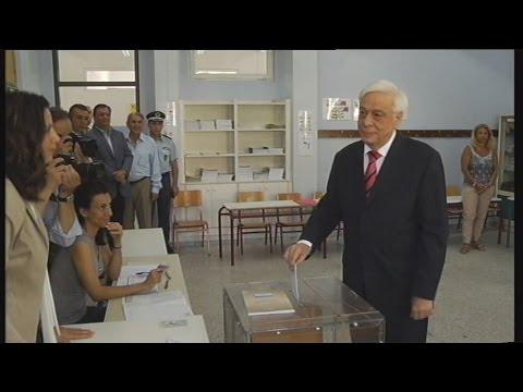 Πρ. Παυλόπουλος: Το εκλογικό αποτέλεσμα να δικαιώσει τις τεράστιες θυσίες του λαού